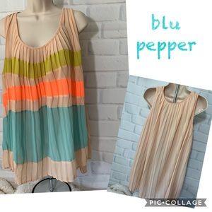 blu pepper (Anthropologie) Pleated Top